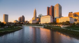 cost of living in columbus downtown